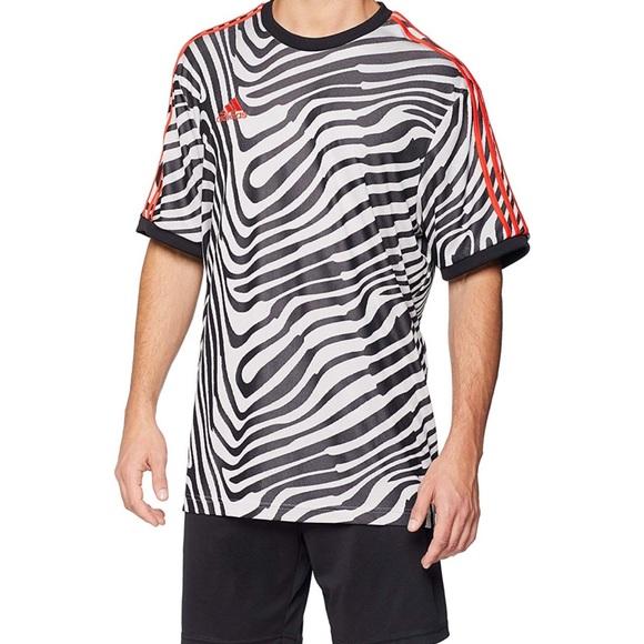 660cb4a42a3b80 adidas Shirts | Tango Training Tshirt Blackwhite | Poshmark